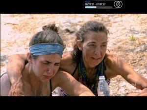 It's tough for Aubry and a recovering Debbie to watch the drama unfold (go, Aubry!).