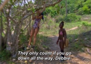 The casting director must be stoked they went with Debbie.