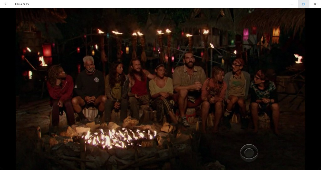 Are Julia and Aubry whispering to each other here while Scot is talking?