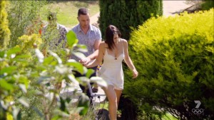 The MKR stylists love dressing contestants in ugly playsuits.