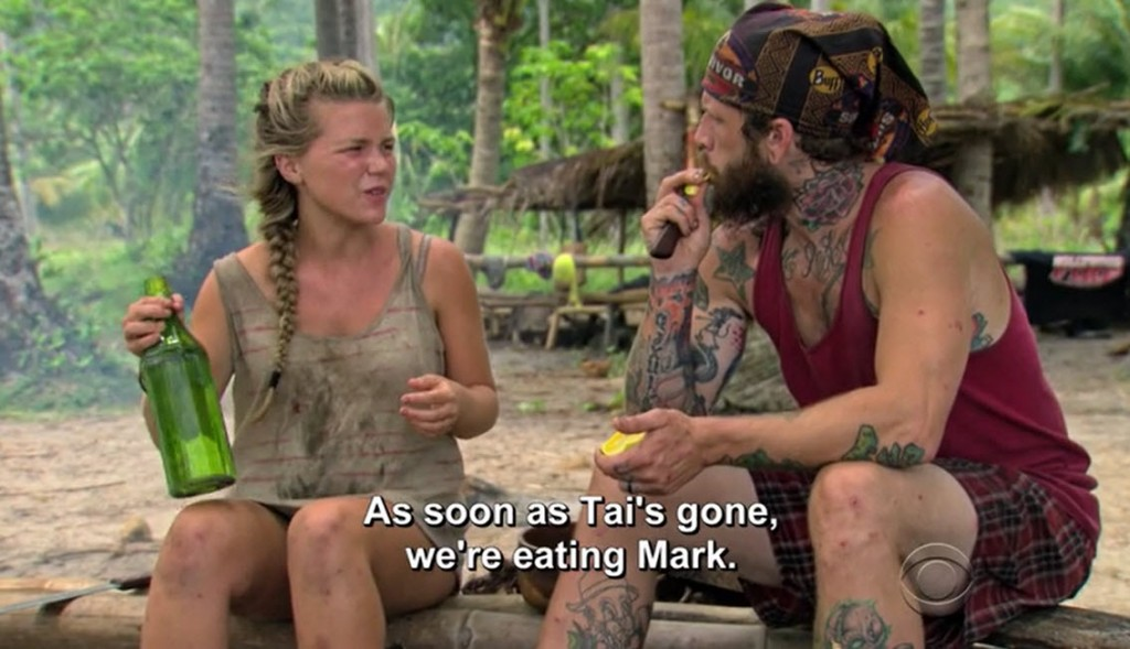 Survivor, you can't kill off one of your most popular characters. #SaveMarkTheChicken