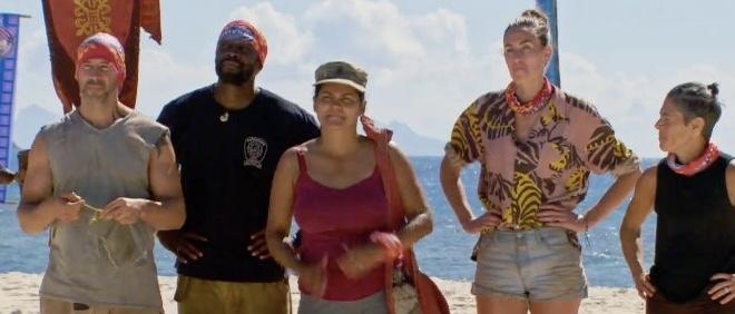 Survivor Winners at War ep 5: tribe swap